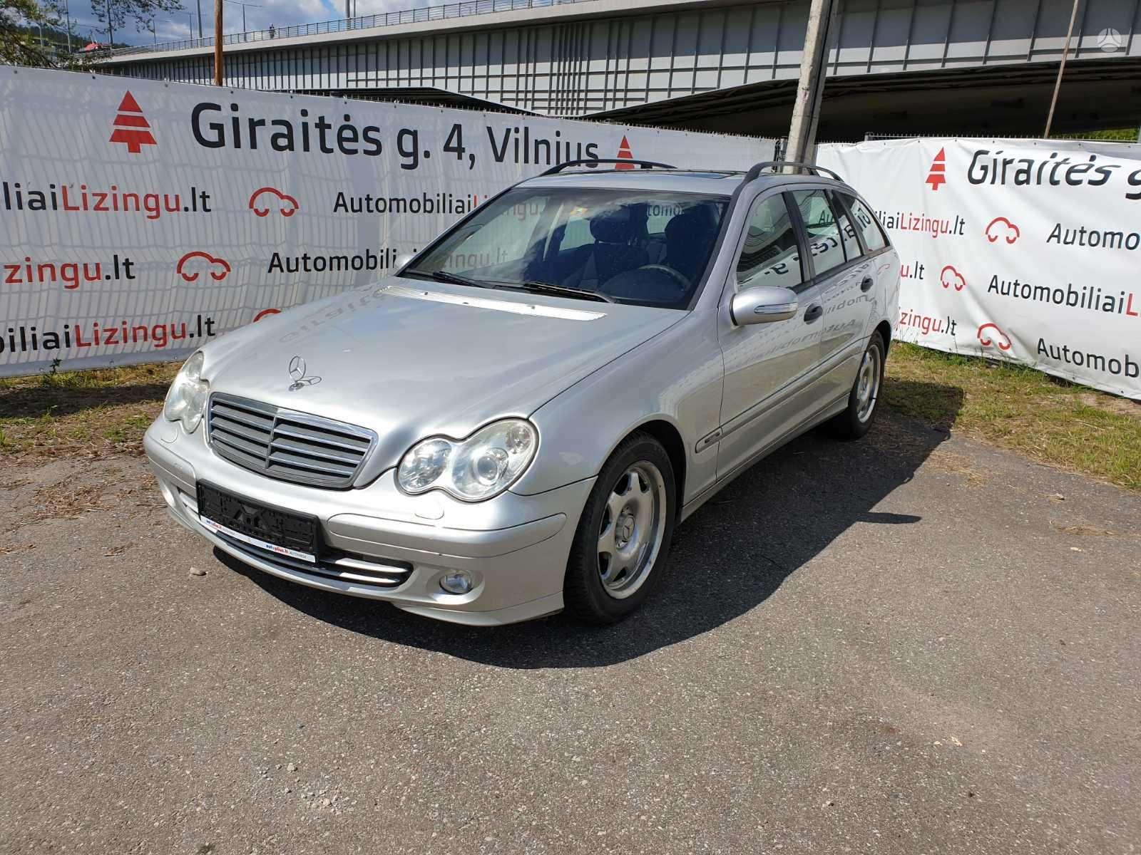 Mercedes-Benz C220, 2.2 l., universalas