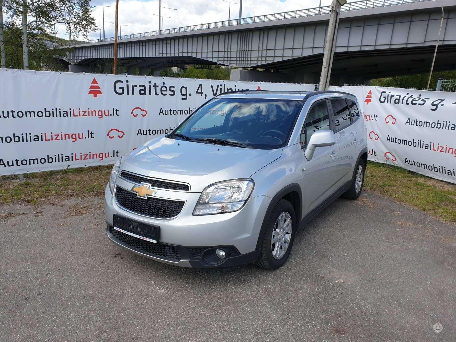 Chevrolet Orlando, 1.8 l., vienatūris