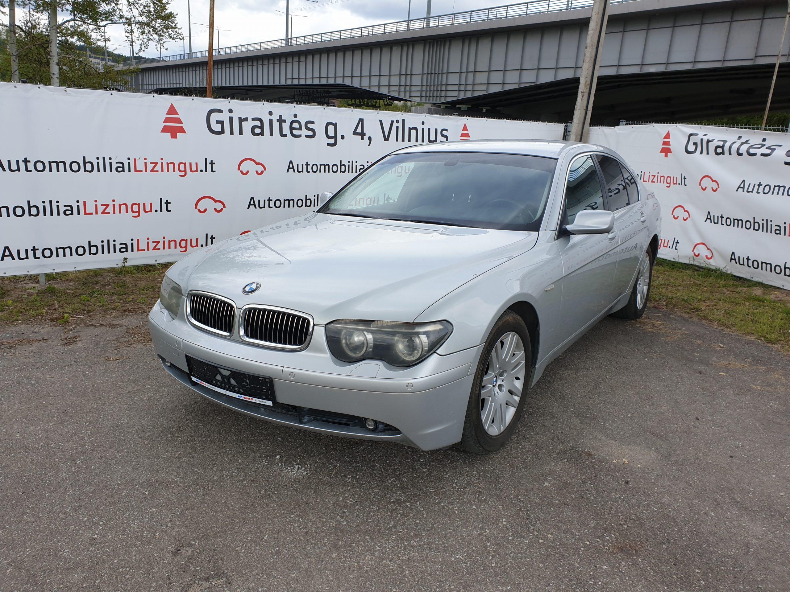 BMW 730, 3.0 l., sedanas