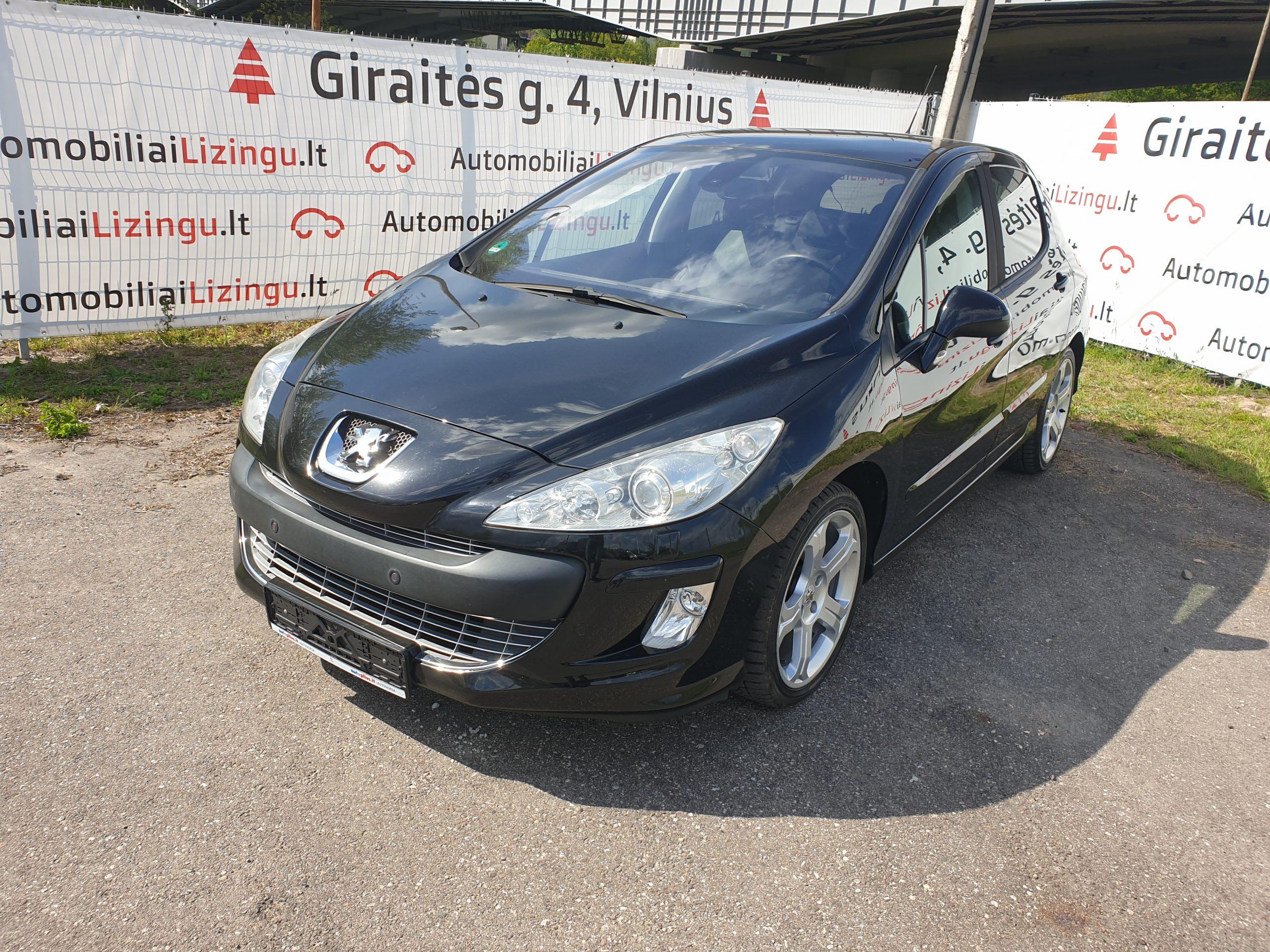 Peugeot 308, 1.6 l., hečbekas