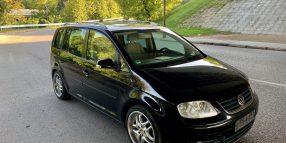 Volkswagen Touran, 2.0 l., vienatūris