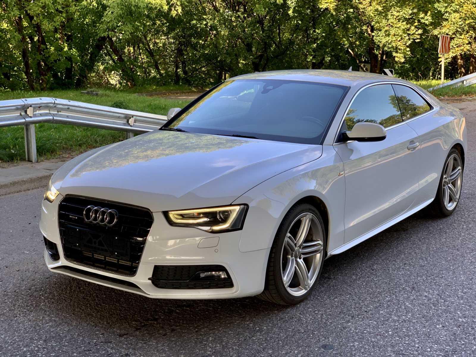 Audi A5, 2.0 l., kupė (coupe)