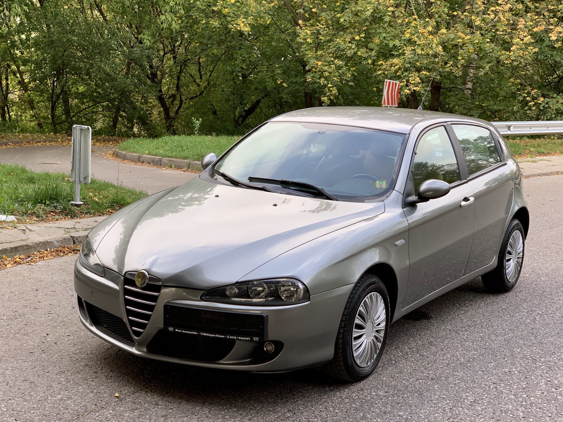 Alfa Romeo 147, 1.9 l., hečbekas