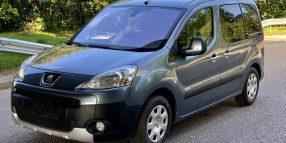 Peugeot Partner, 1.6 l., vienatūris