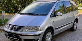 Volkswagen Sharan, 1.9 l., vienatūris
