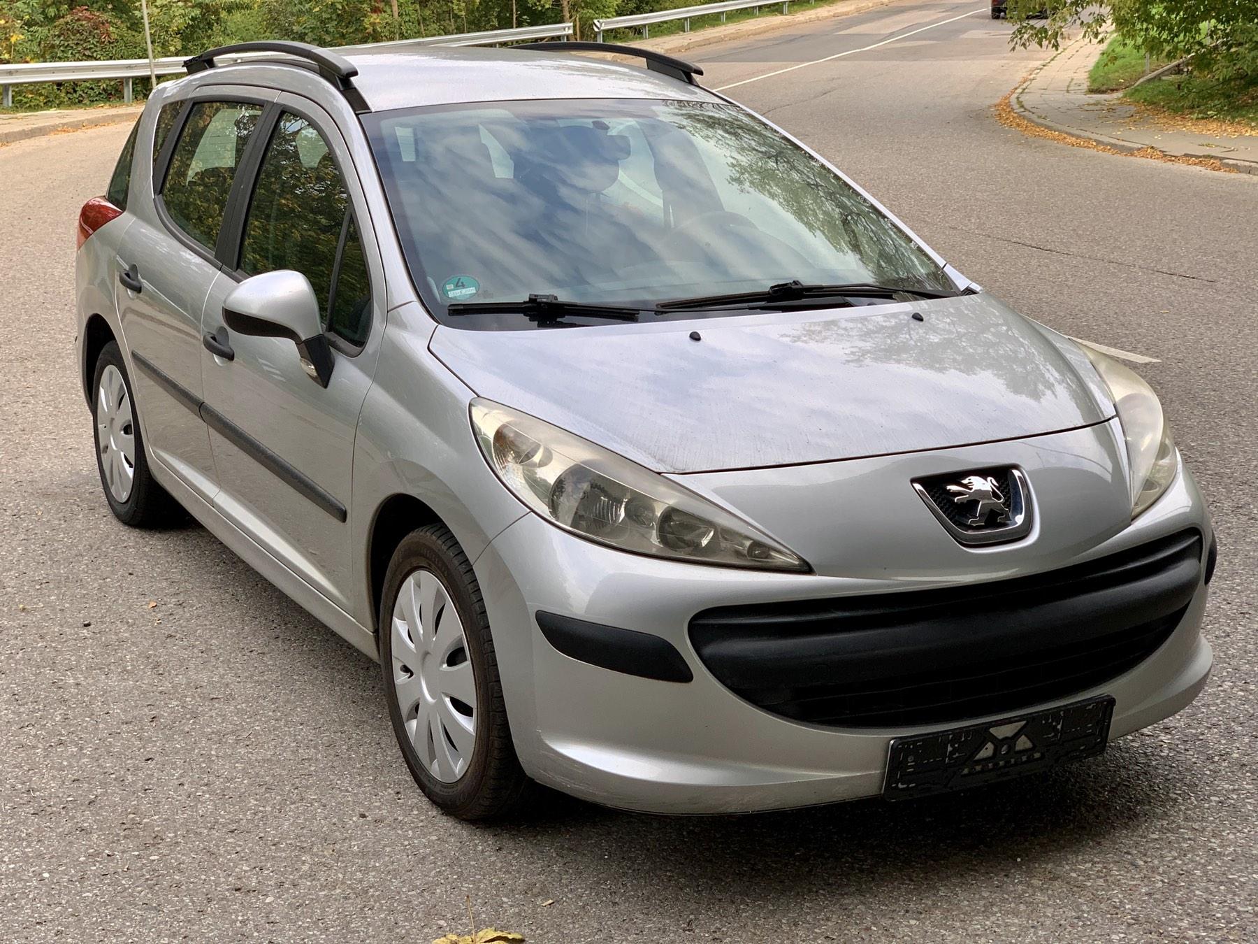 Peugeot 207, 1.6 l., universalas