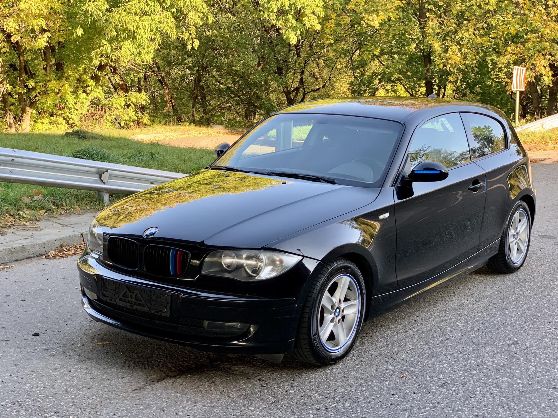 BMW 118, 2.0 l., kupė (coupe)