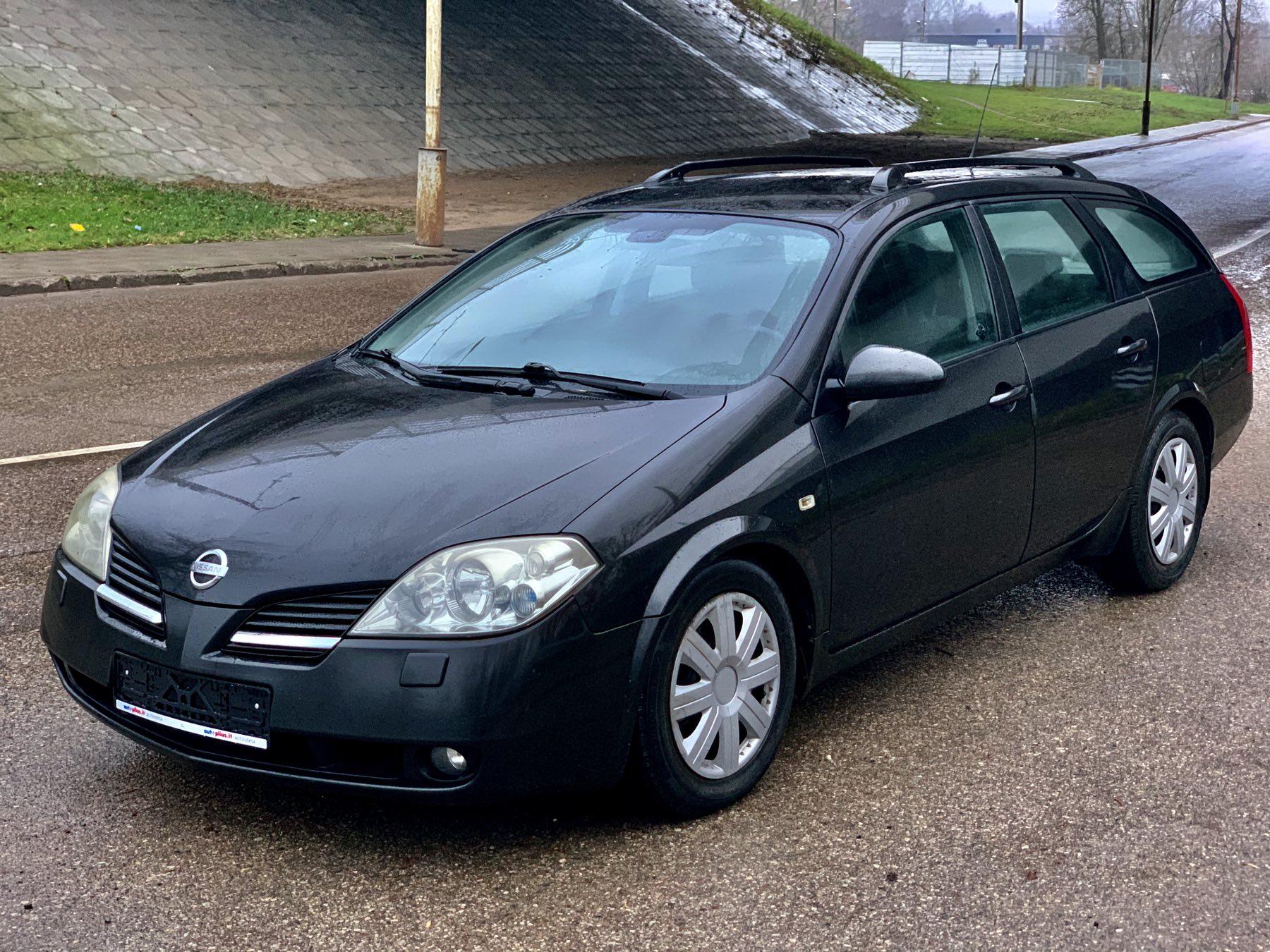 Nissan Primera, 2.2 l., universalas