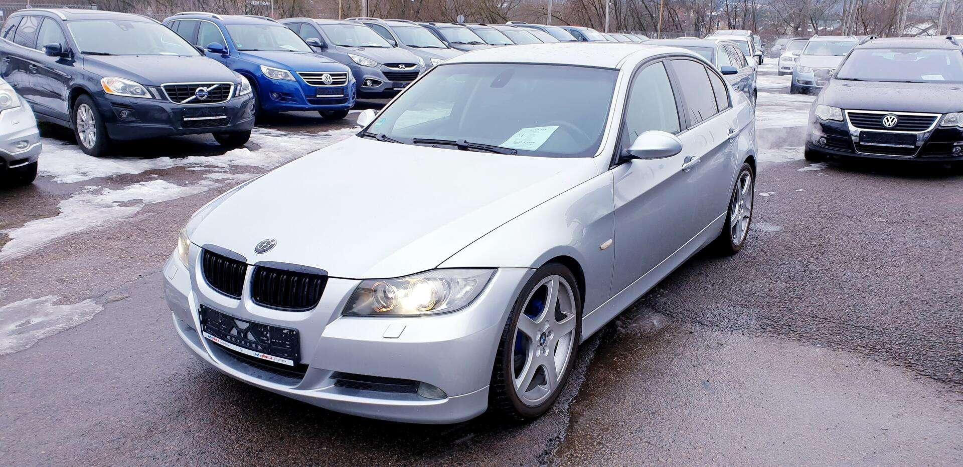 BMW 325i E90✅ 2005 m. ✅2.5 (160kW) Benzinas✅