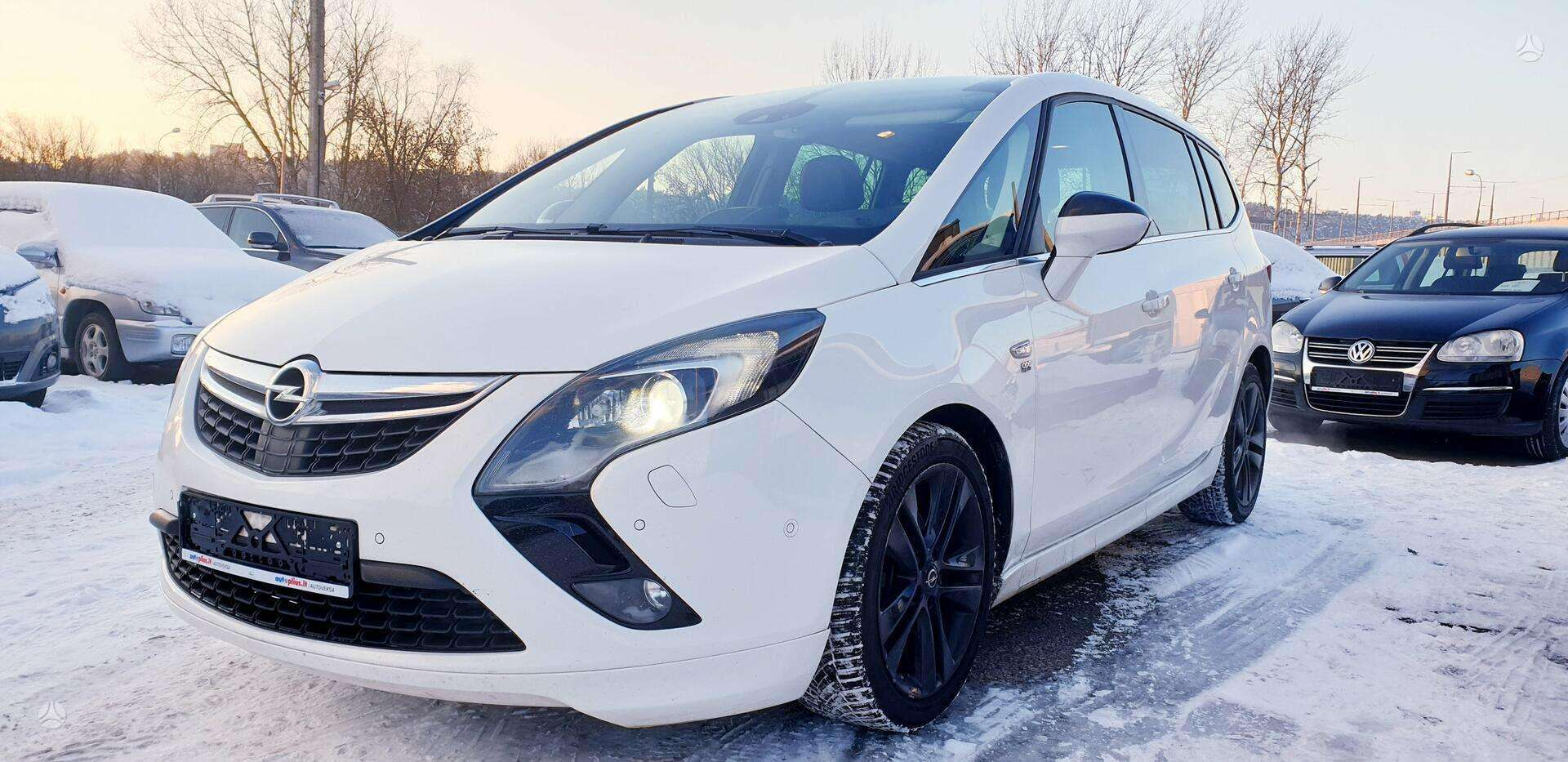 Opel Zafira C ✅ 2015 m. ✅1.6 Ecotec 100kw Dyzelinas ✅