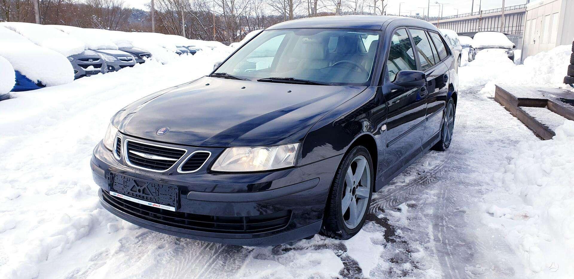 Saab 9-3 ✅ 2008 m. ✅1.9 (88kW) Dyzelinas✅