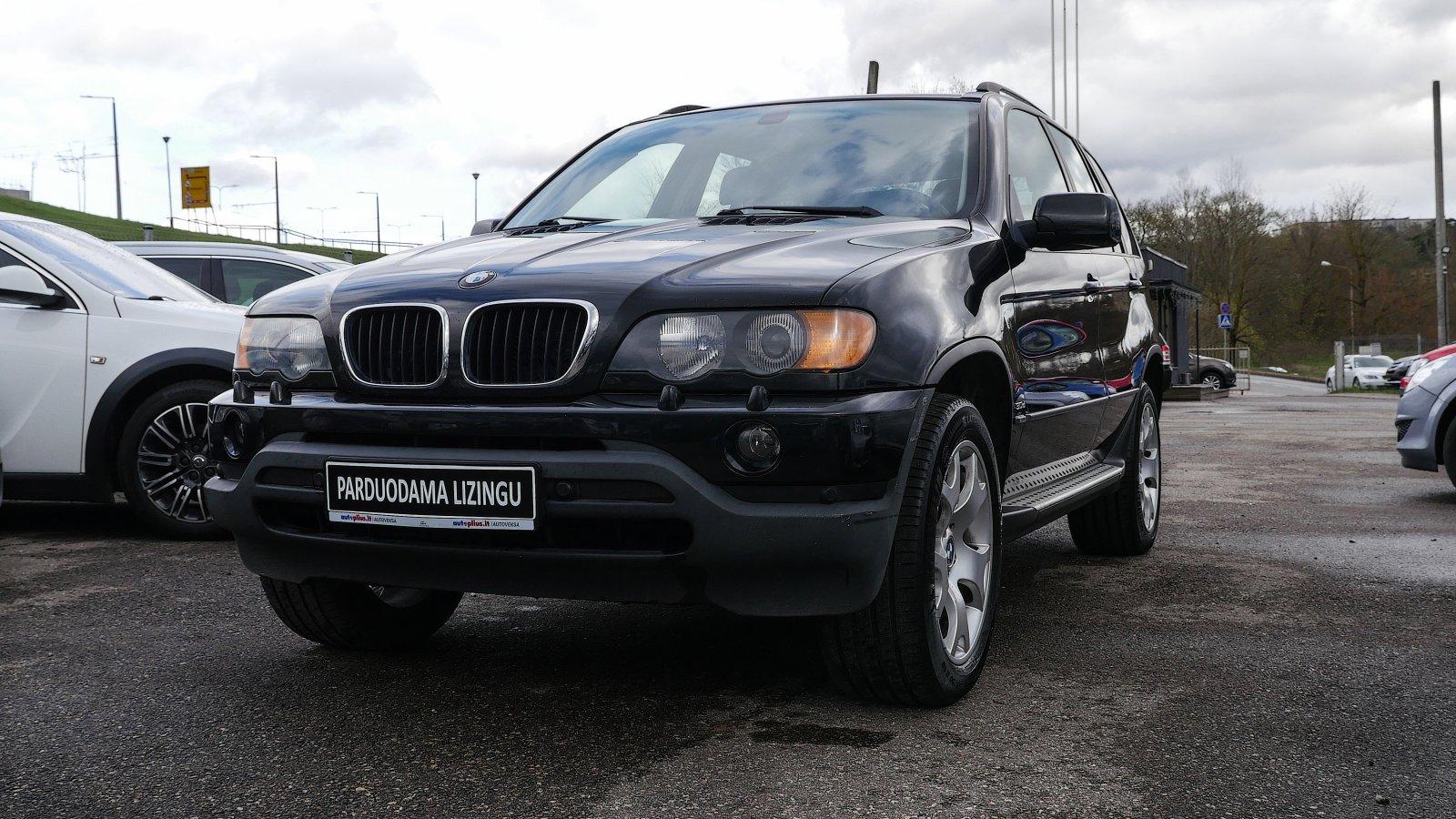 BMW X5 išsimokėtinai nuo 80 Eur/mėn ir su 3 mėnesių garantija