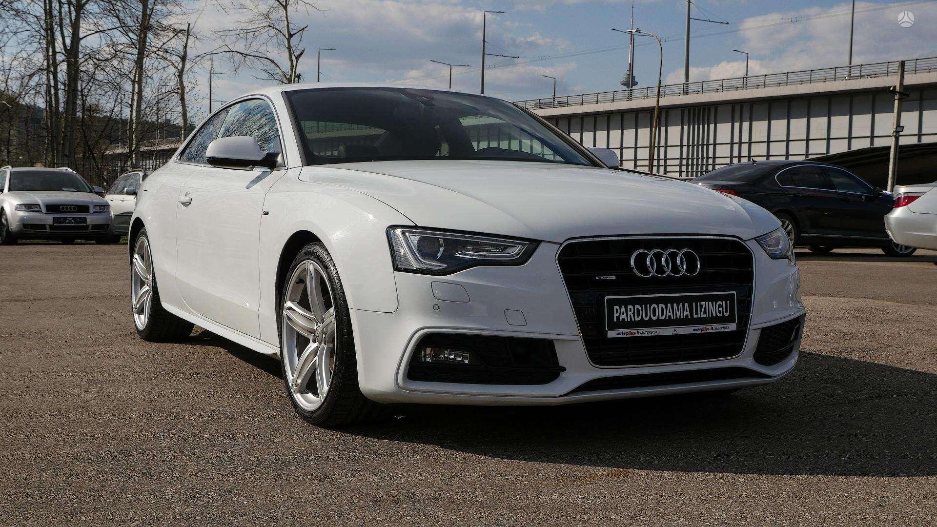 Audi A5 išsimokėtinai nuo 292Eur/Mėn su 3 mėnesių garantija