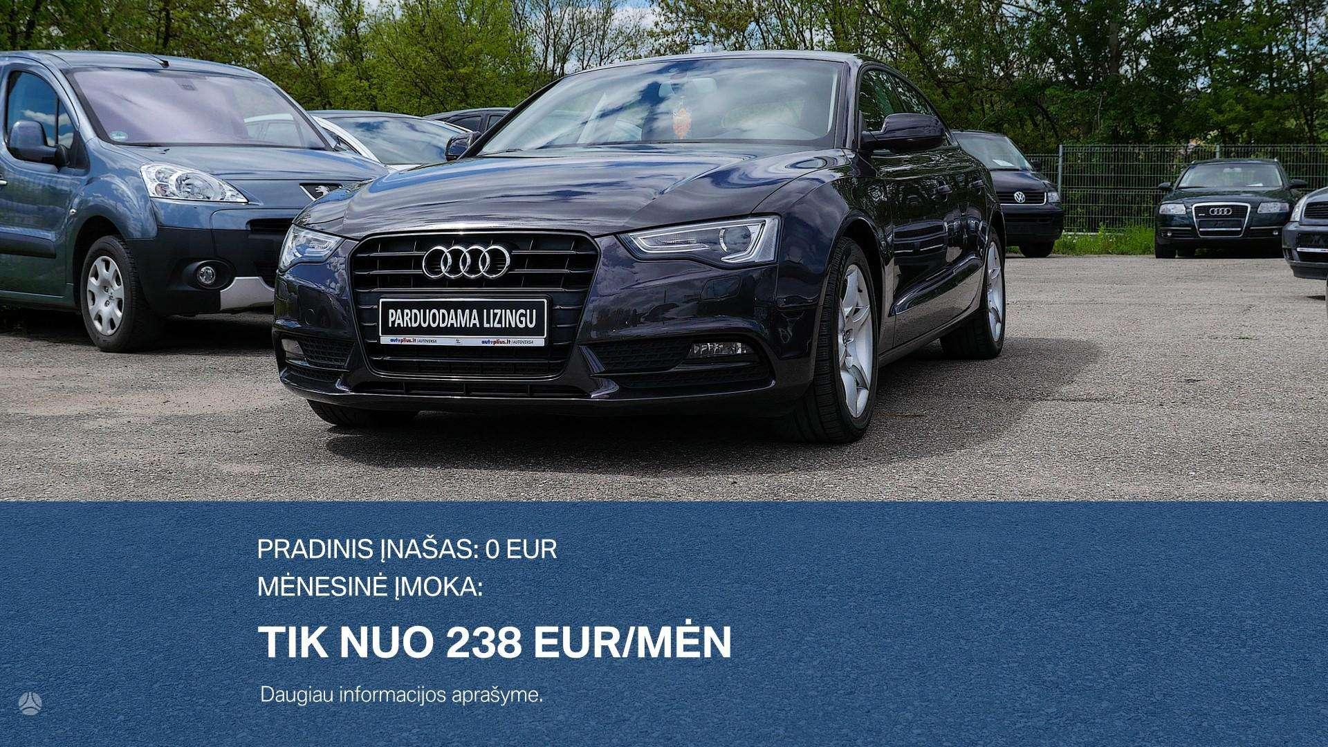 Audi A5 išsimokėtinai nuo 238Eur/Mėn su 3 mėnesių garantija