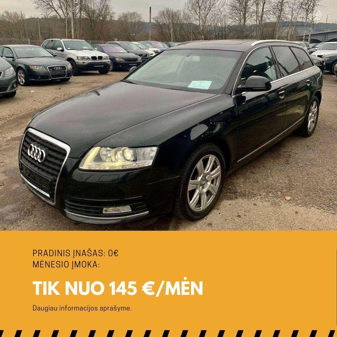 Audi A6 išsimokėtinai nuo 145Eur/Mėn ir su 3 mėnesių garantija