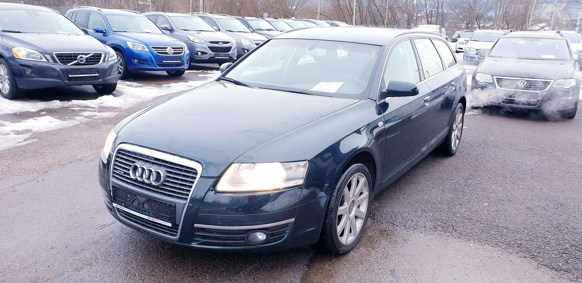 Audi A6 išsimokėtinai nuo 78Eur/Mėn ir su 3 mėnesių garantija