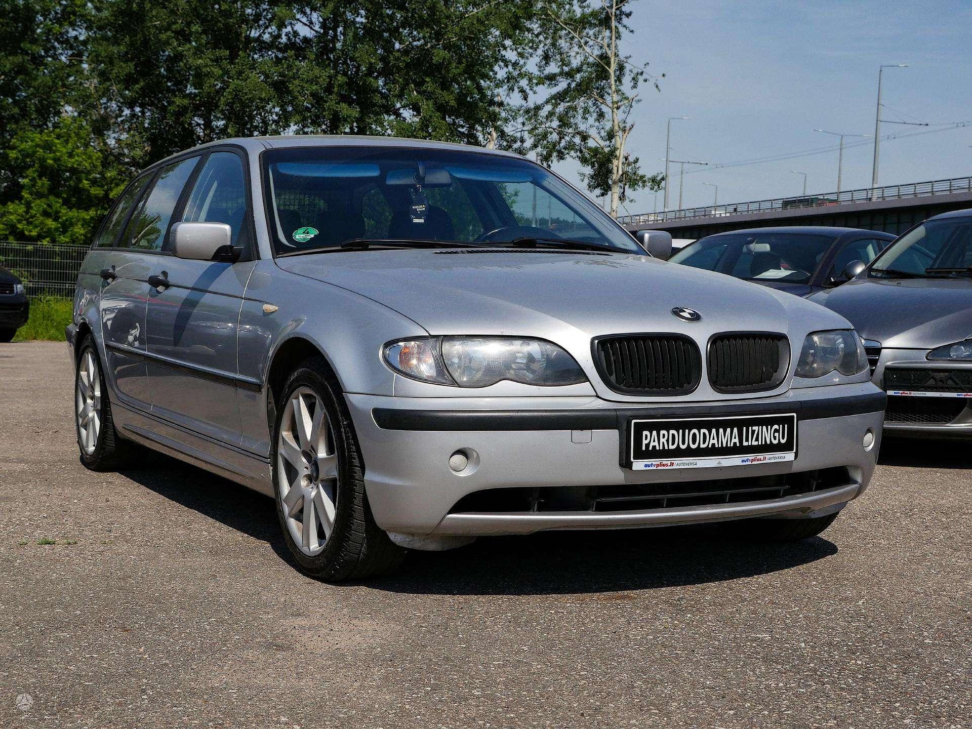 BMW 320 išsimokėtinai nuo 54Eur/Mėn su 3 mėnesių garantija
