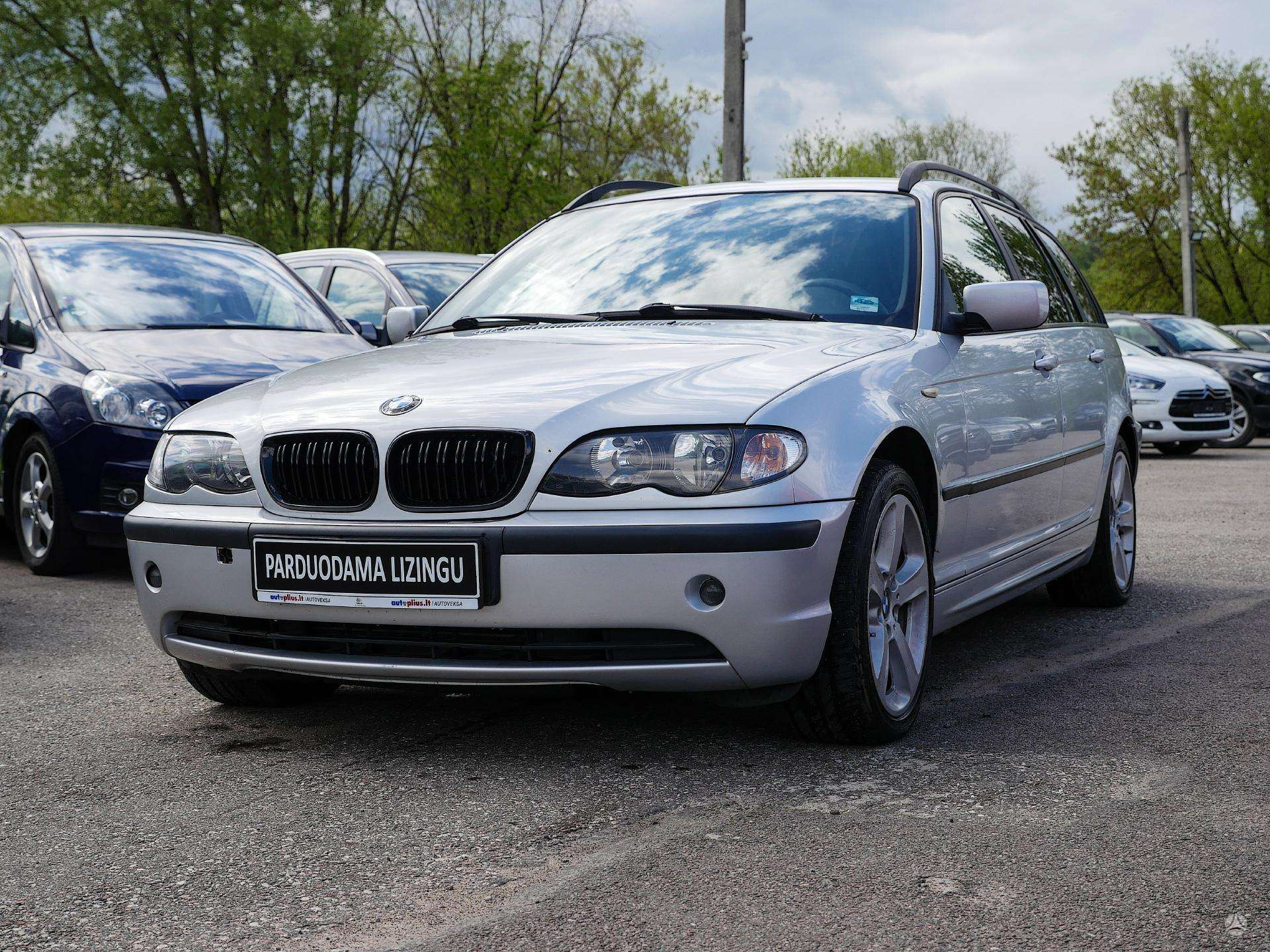 BMW 320 išsimokėtinai nuo 66Eur/Mėn su 3 mėnesių garantija
