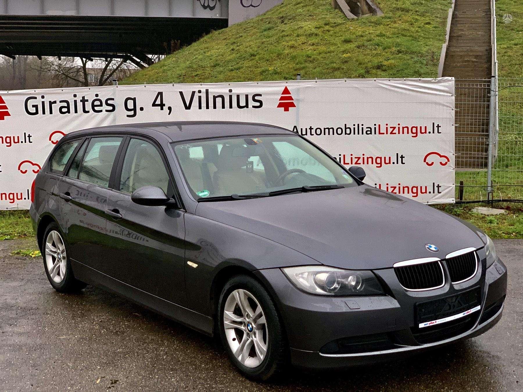 BMW 320 išsimokėtinai nuo 83Eur/Mėn su 3 mėnesių garantija