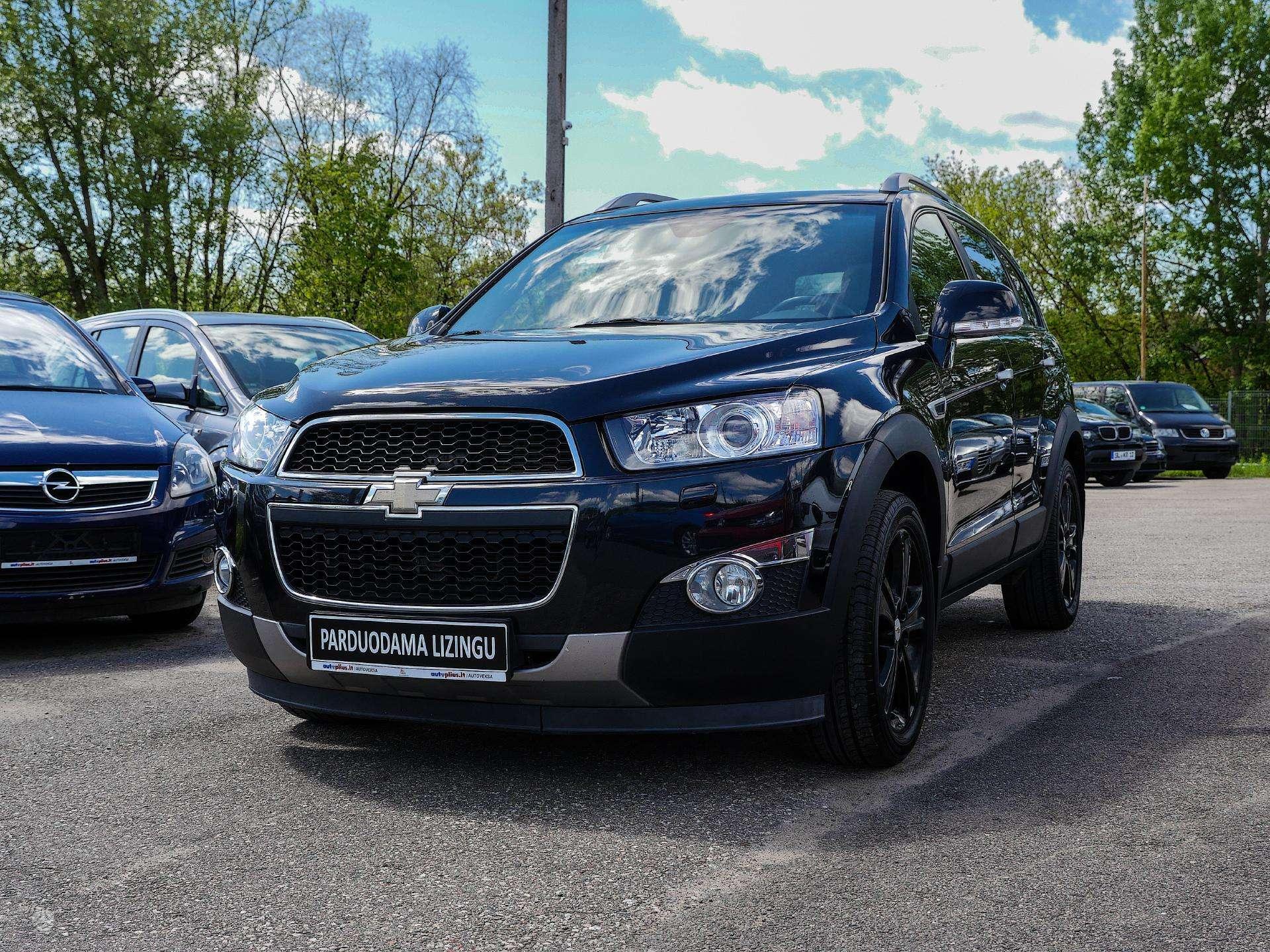 Chevrolet Captiva išsimokėtinai nuo 153Eur/mėn su 3 mėnesių garantija