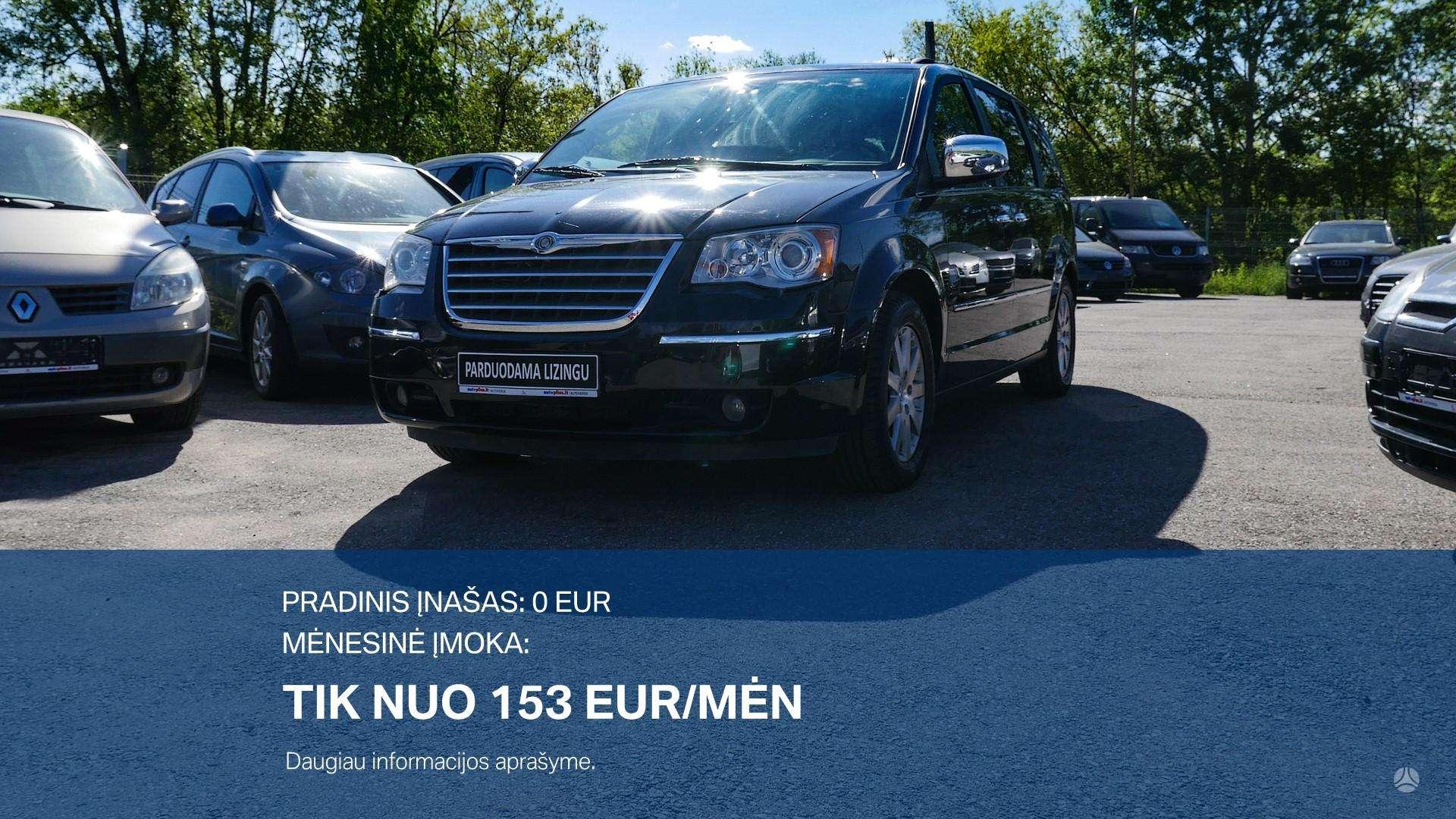 Chrysler Grand Voyager išsimokėtinai nuo 153 Eur/mėn su 3 mėnesių garantija
