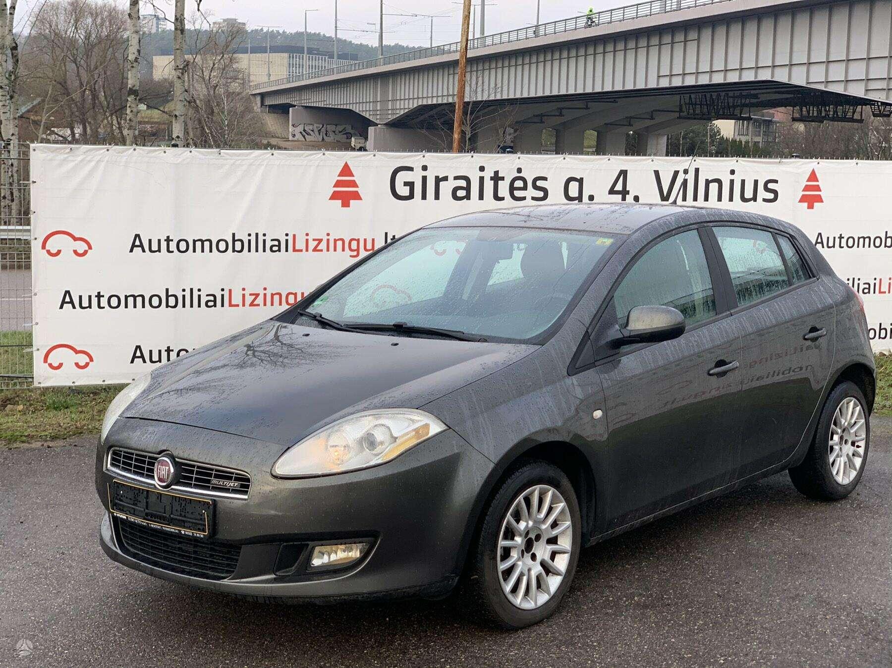 Fiat Bravo išsimokėtinai nuo 62 Eur/mėn su 3 mėnesių garantija