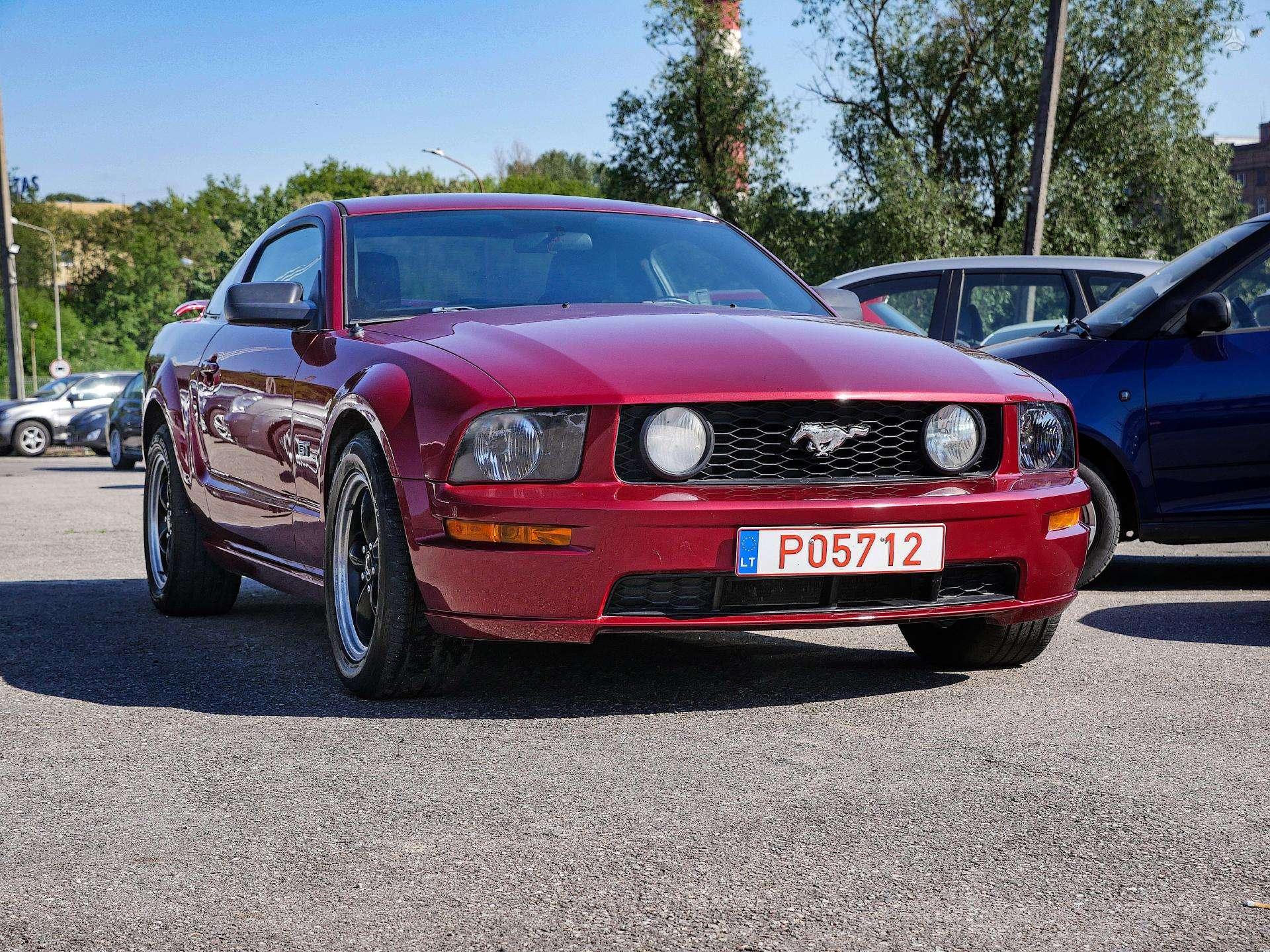 Ford Mustang išsimokėtinai nuo 149Eur/Mėn su 3 mėnesių garantija