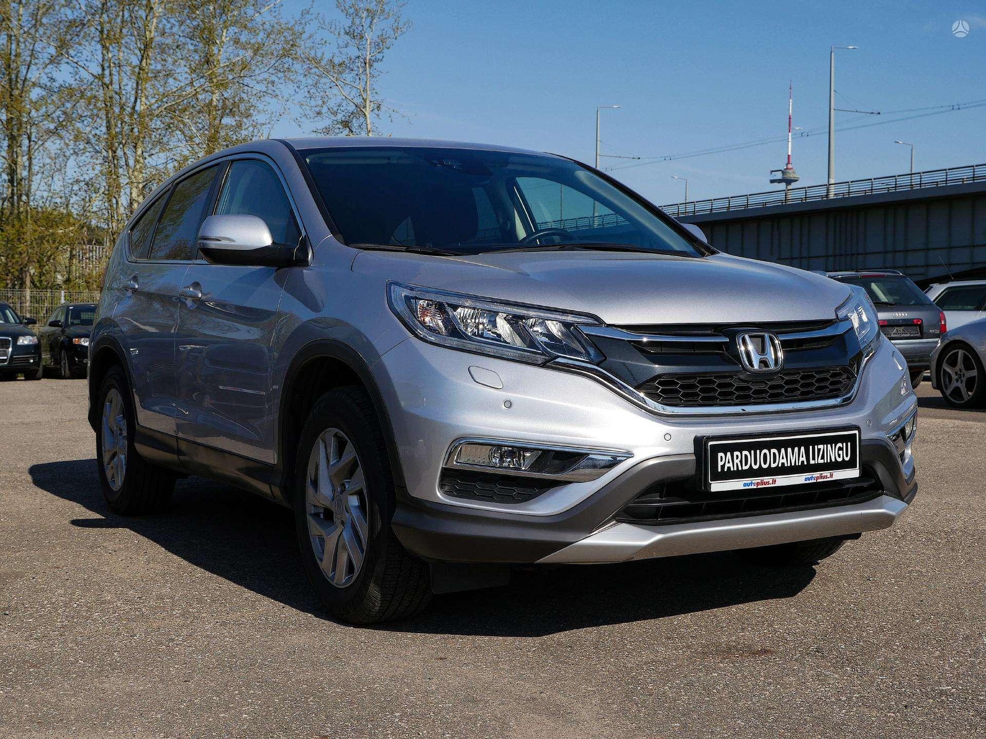 Honda CR-V išsimokėtinai nuo 282 Eur/mėn su 3 mėnesių garantija
