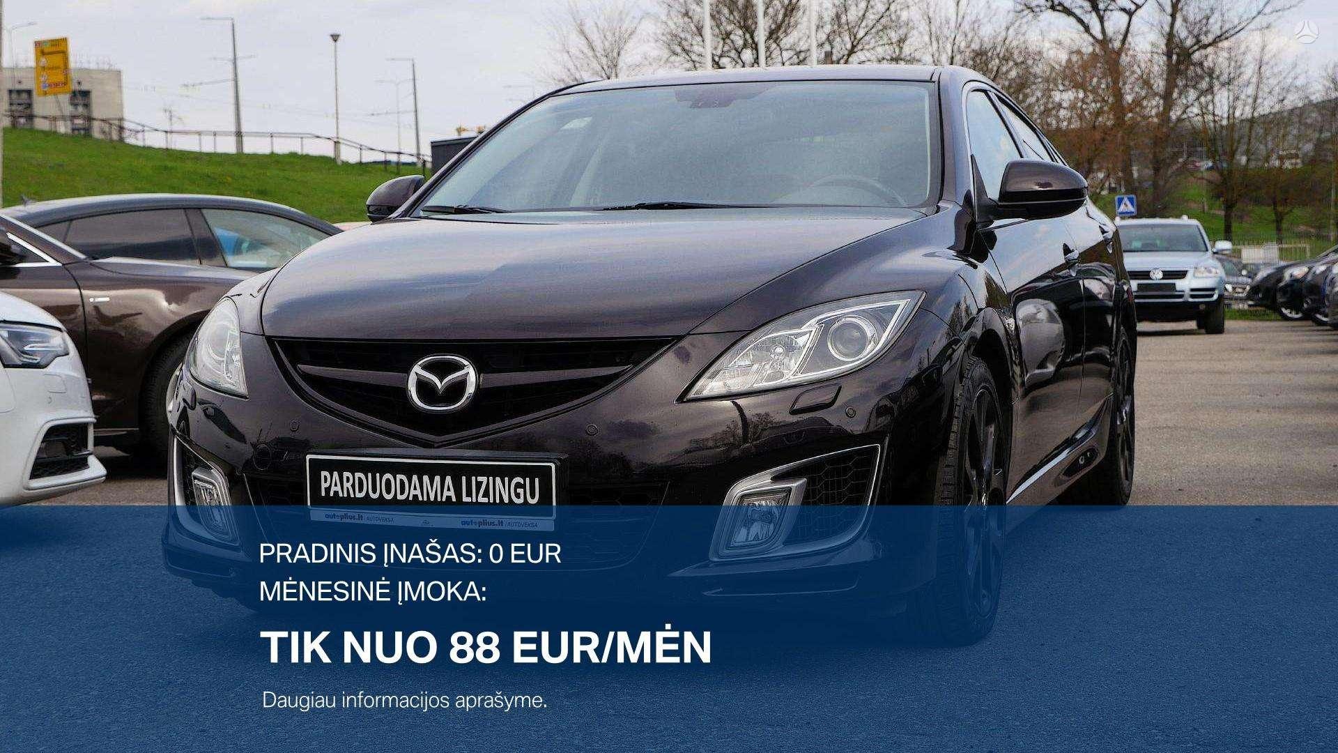 Mazda 6 išsimokėtinai nuo 76 Eur/mėn su 3 mėnesių garantija