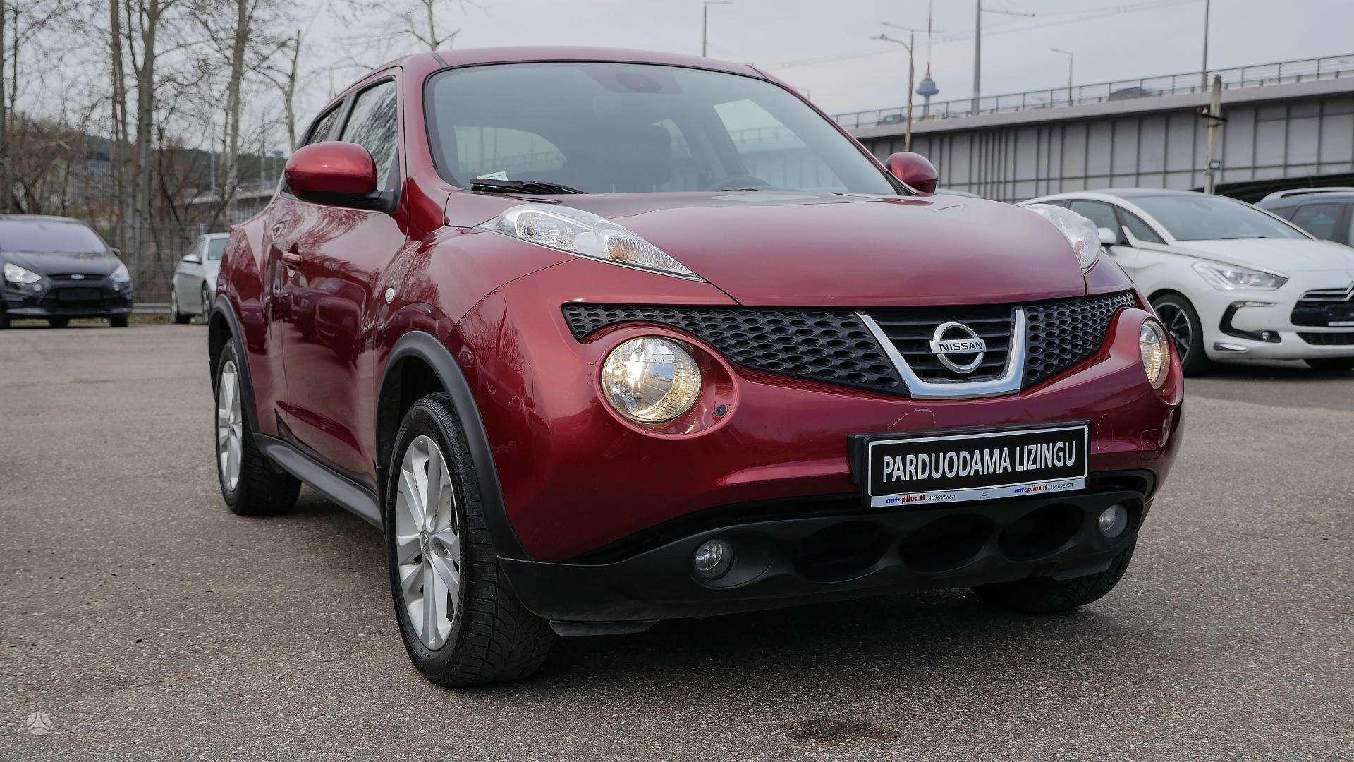 Nissan Juke išsimokėtinai nuo 116Eur/mėn su 3 mėnesių garantija