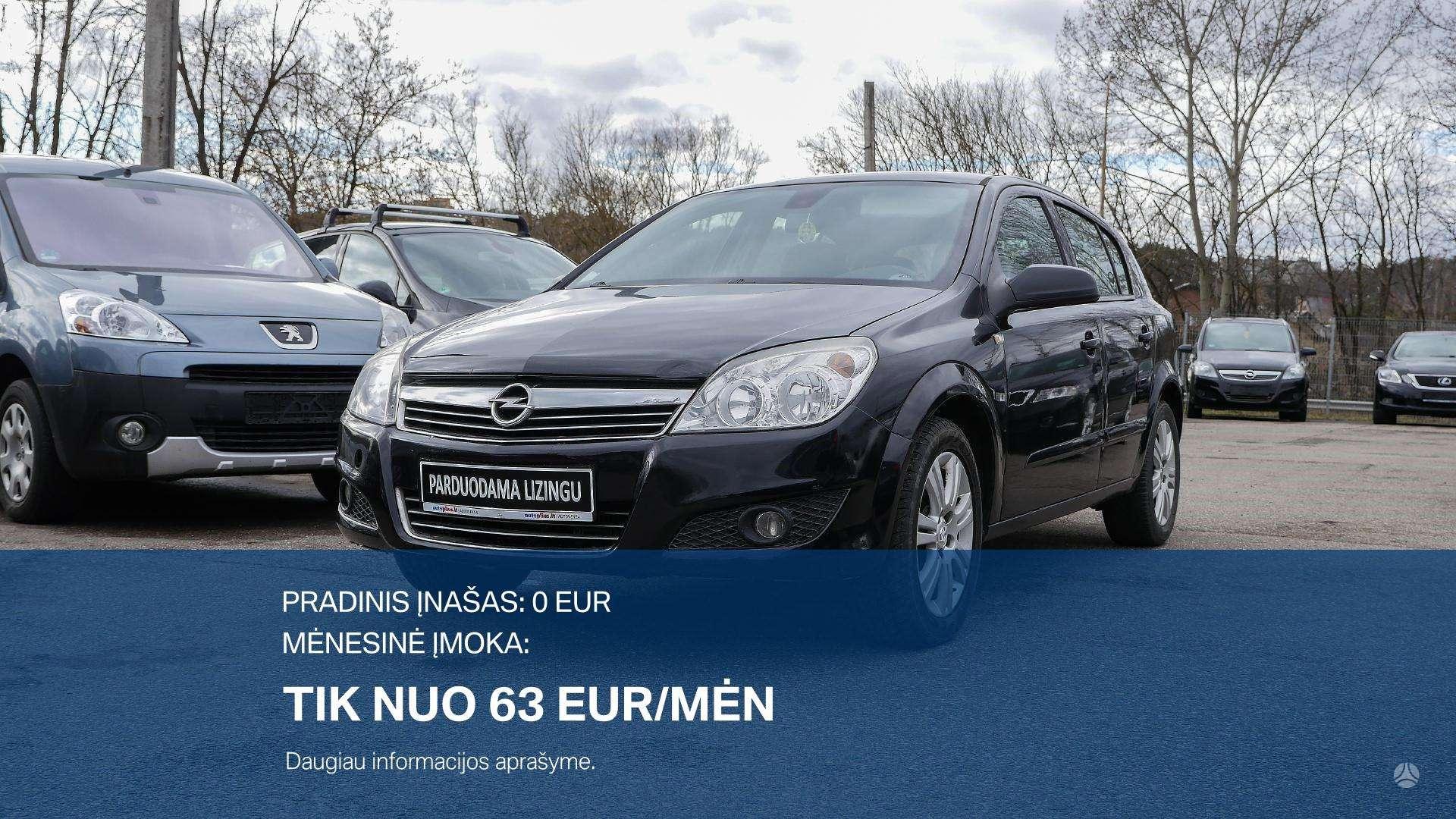 Opel Astra išsimokėtinai nuo 63Eur/Mėn su 3 mėnesių garantija