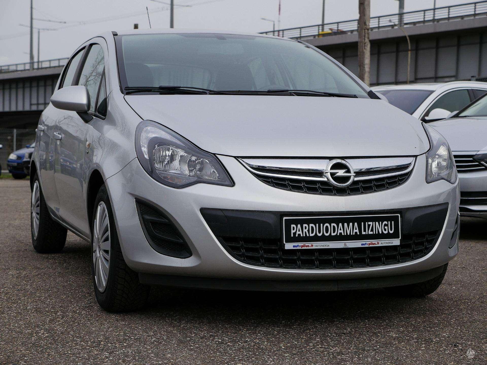 Opel Corsa išsimokėtinai nuo 136Eur/Mėn su 3 mėnesių garantija