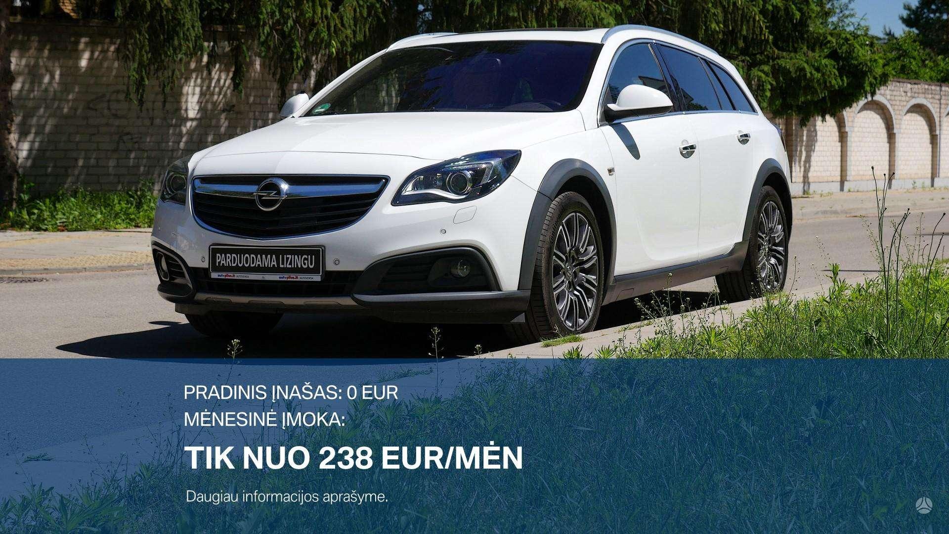 Opel Insignia išsimokėtinai nuo 238Eur/mėn su 3 mėnesių garantija