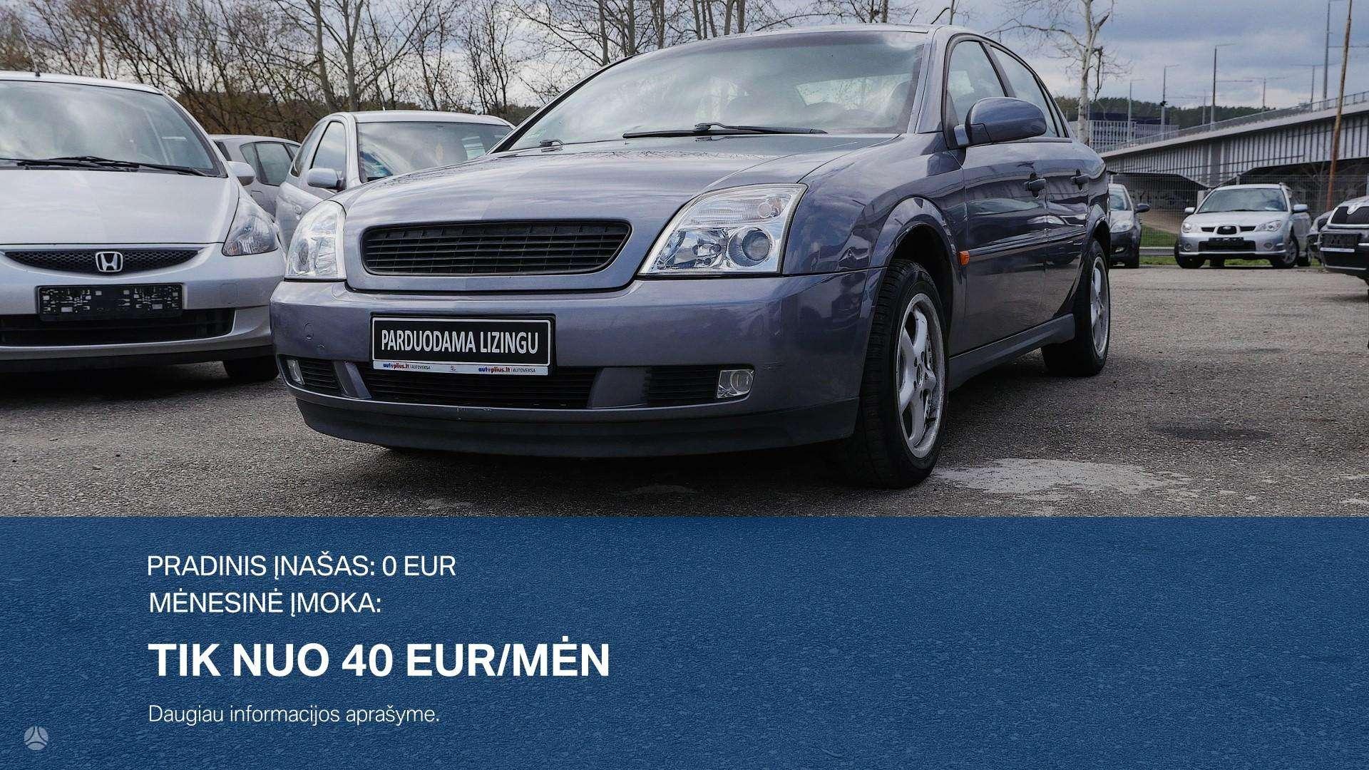 Opel Vectra išsimokėtinai nuo 40Eur/Mėn su 3 mėnesių garantija