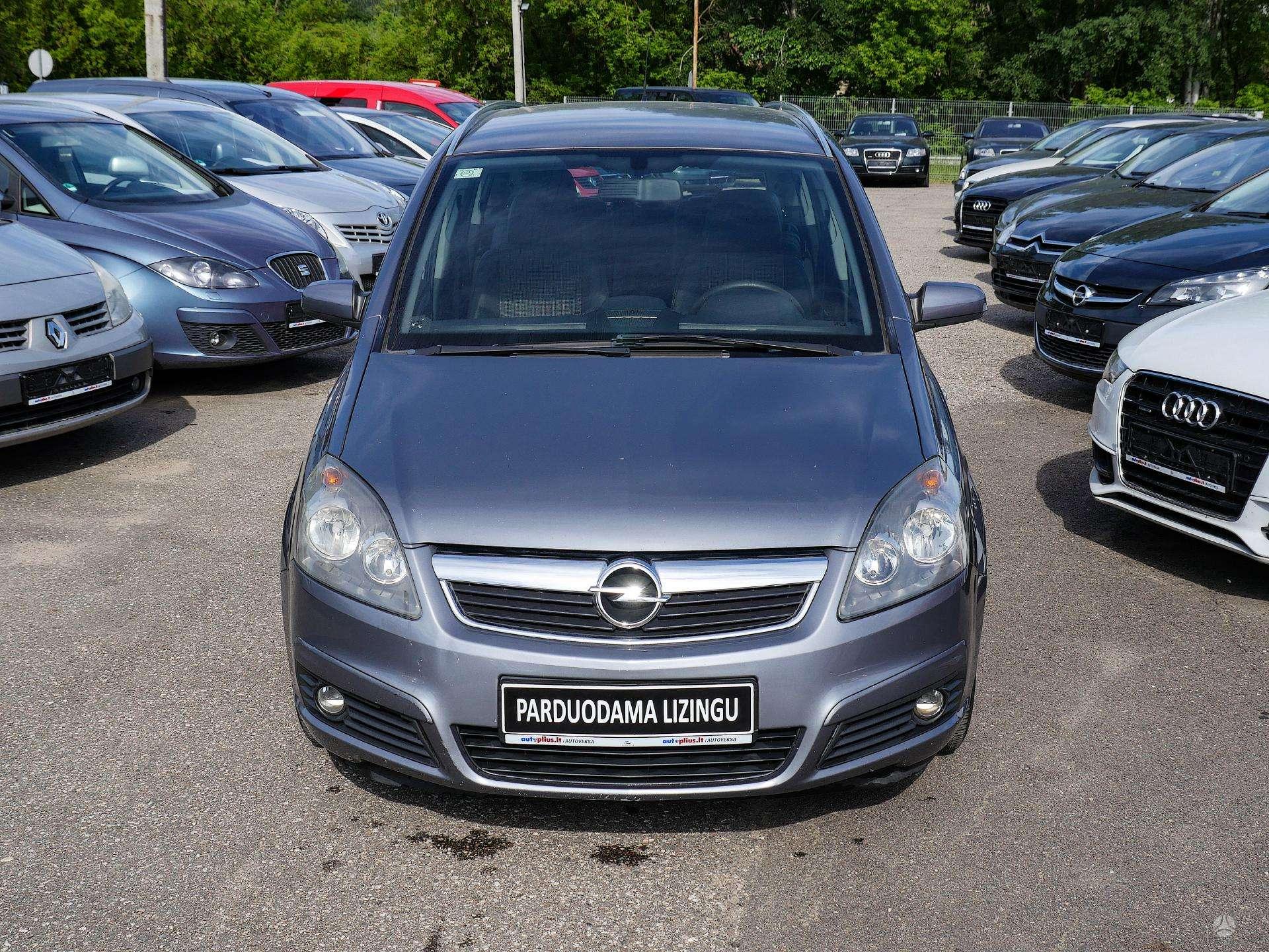 Opel Zafira išsimokėtinai nuo 67Eur/Mėn su 3 mėnesių garantija