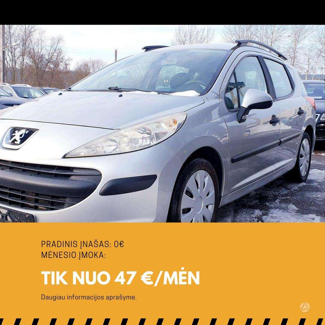 Peugeot 207 išsimokėtinai nuo 47Eur/Mėn su 3 mėnesių garantija