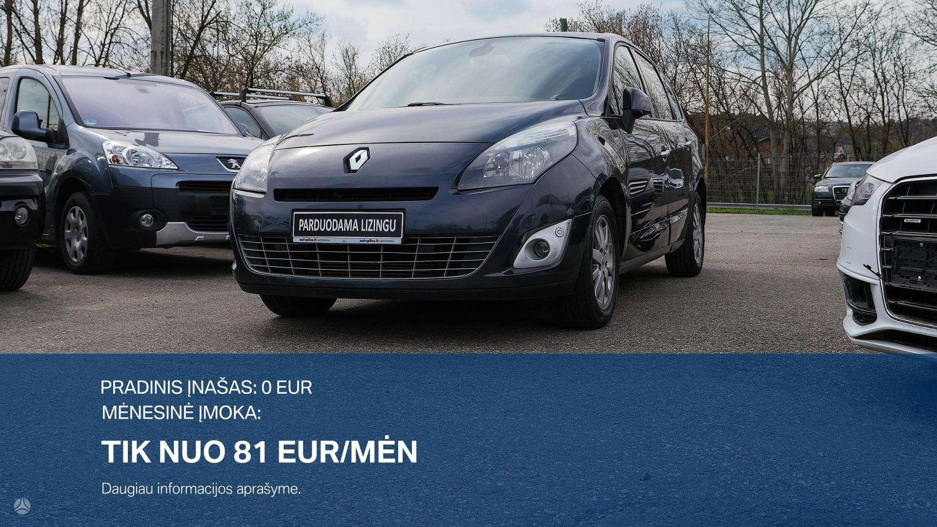 Renault Scenic išsimokėtinai nuo 81Eur/Mėn su 3 mėnesių garantija