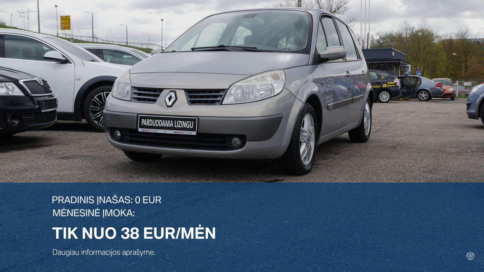 Renault Scenic išsimokėtinai nuo 38Eur/Mėn su 3 mėnesių garantija