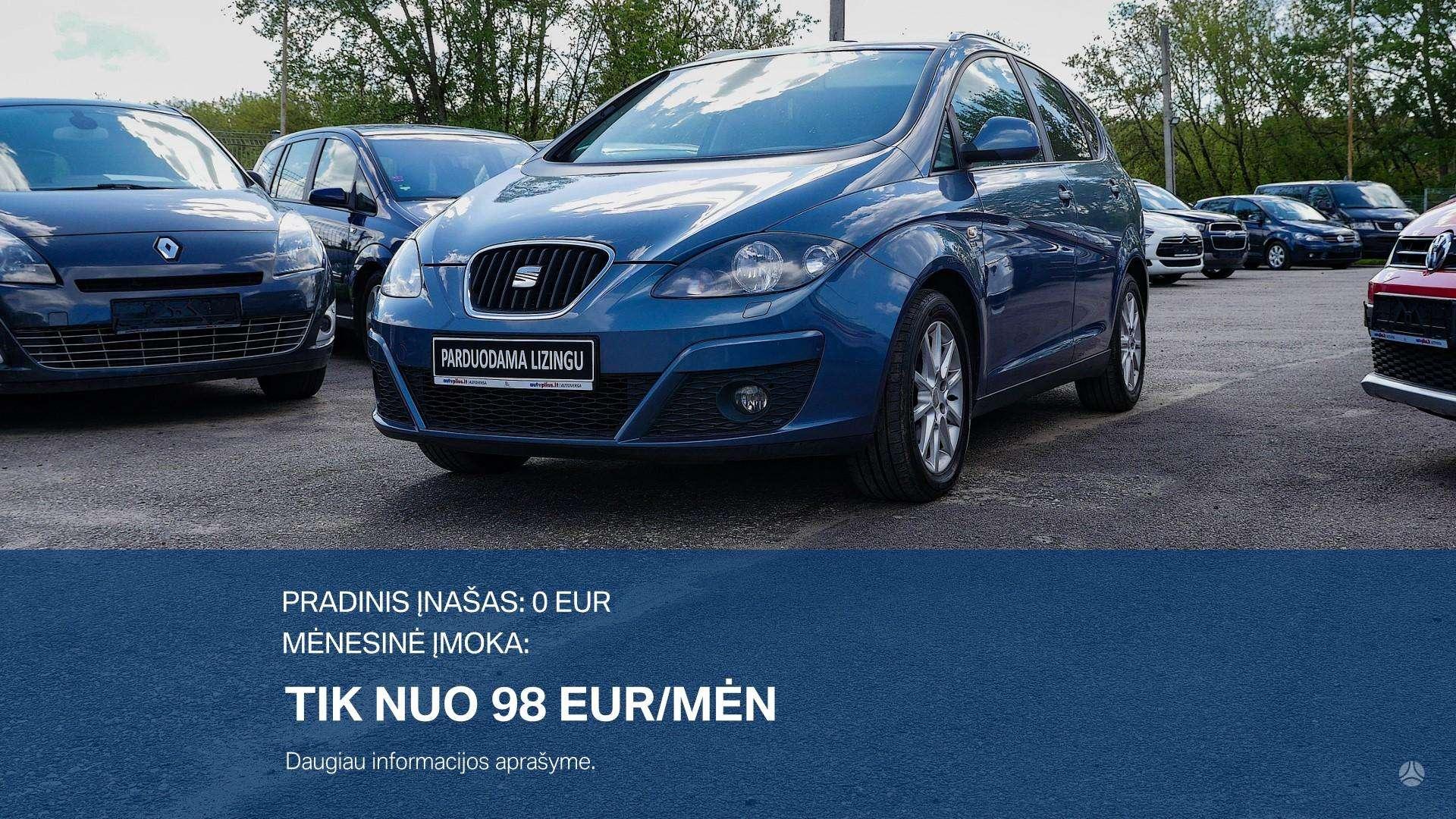 Seat Altea XL išsimokėtinai nuo 98Eur/Mėn su 3 mėnesių garantija