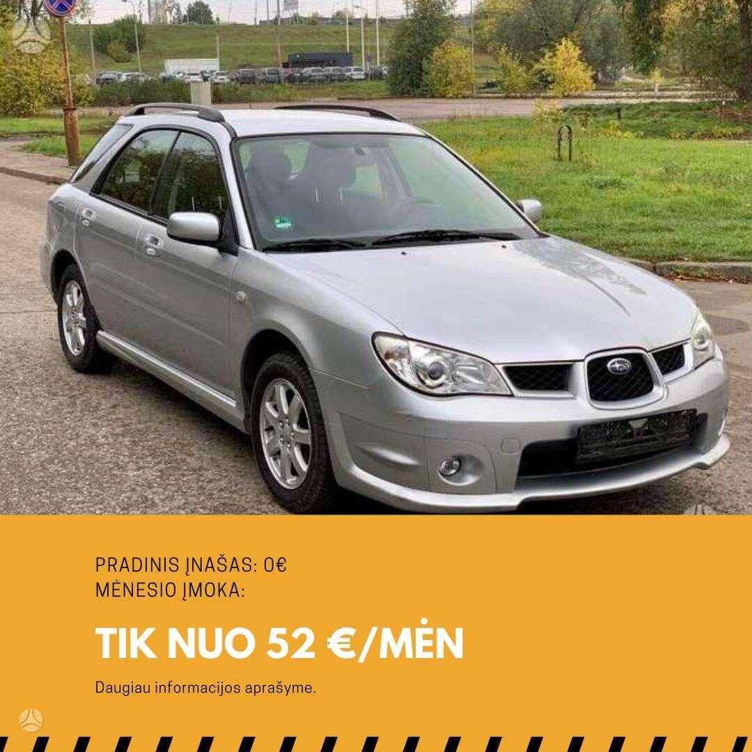 Subaru Impreza išsimokėtinai nuo 52Eur/Mėn su 3 mėnesių garantija
