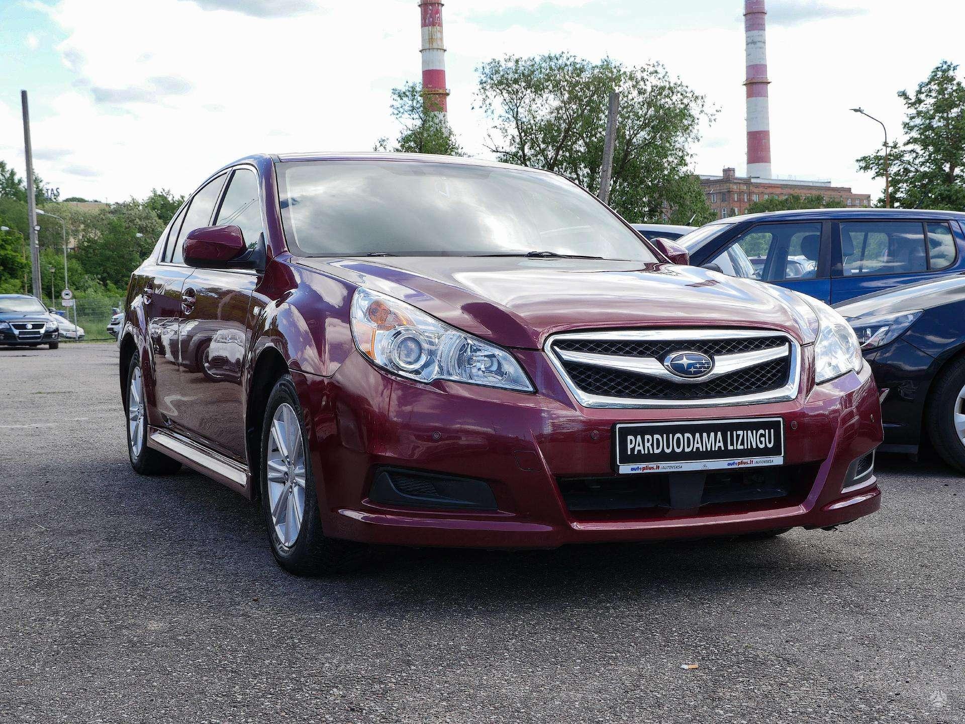 Subaru Legacy išsimokėtinai nuo 103Eur/Mėn su 3 mėnesių garantija