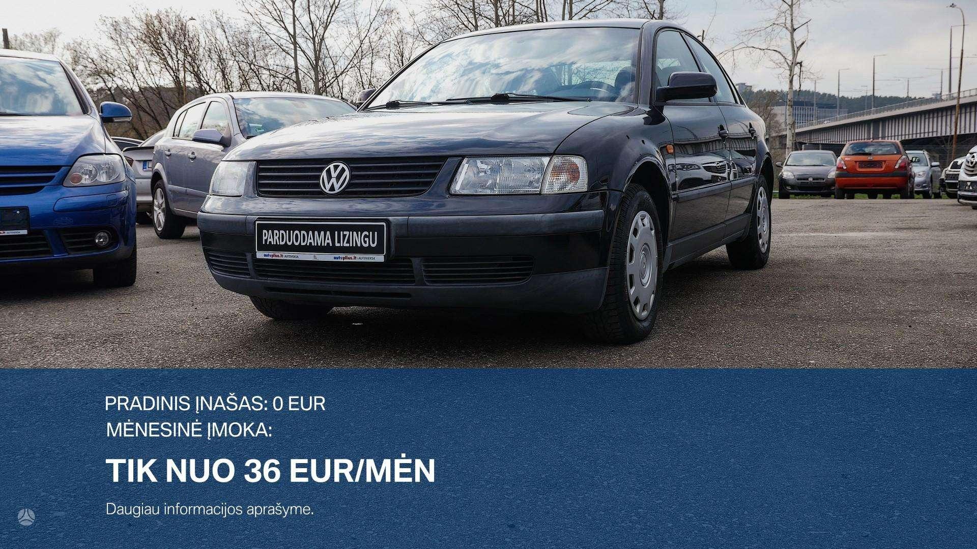 Volkswagen Passat išsimokėtinai nuo 36Eur/Mėn su 3 mėnesių garantija