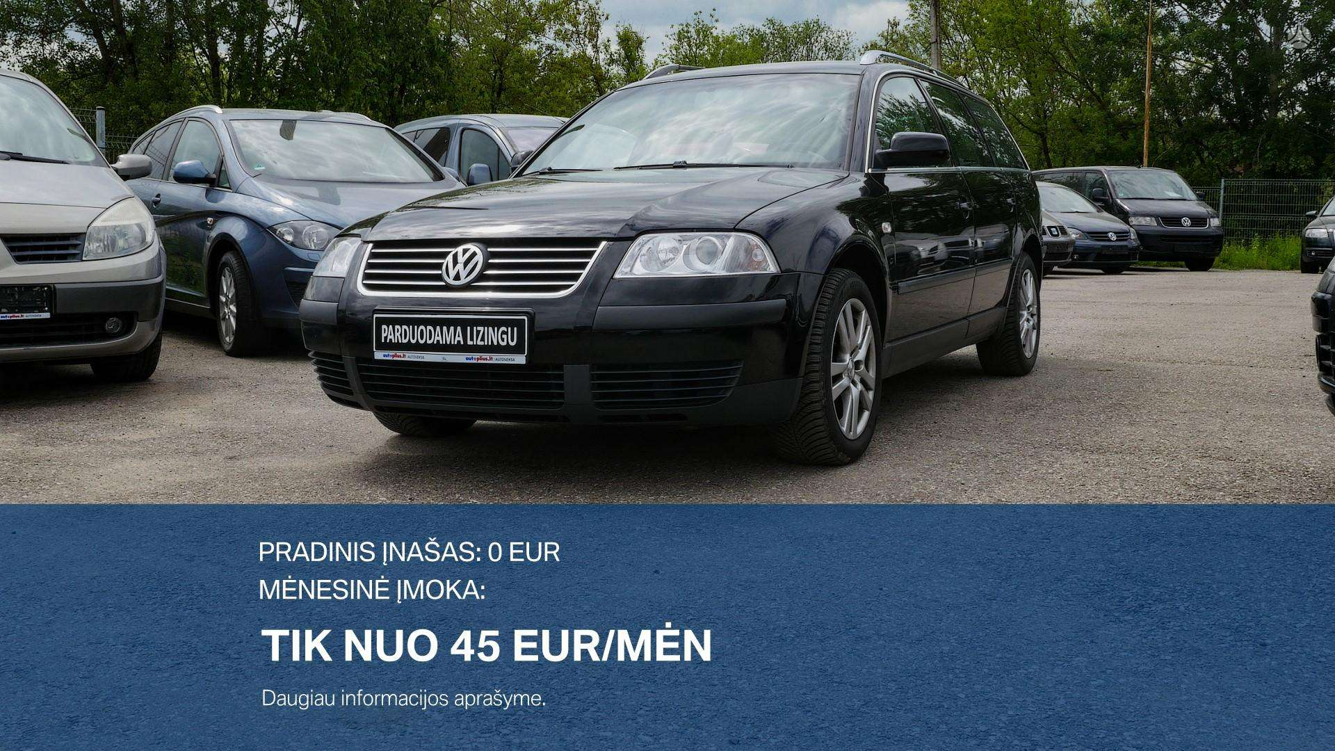 Volkswagen Passat išsimokėtinai nuo 45Eur/Mėn su 3 mėnesių garantija