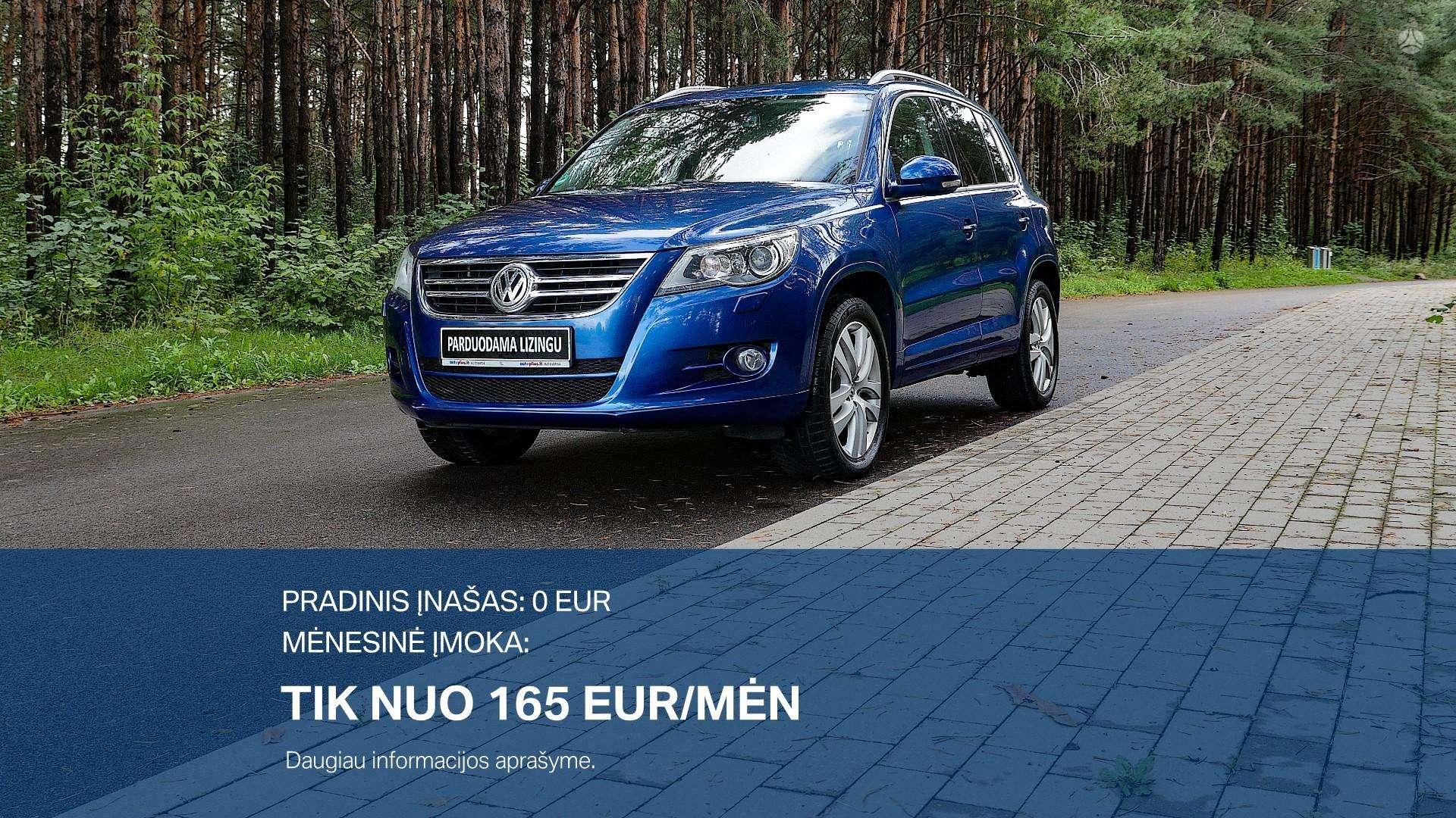 Volkswagen Tiguan išsimokėtinai nuo 165Eur/Mėn su 3 mėnesių garantija
