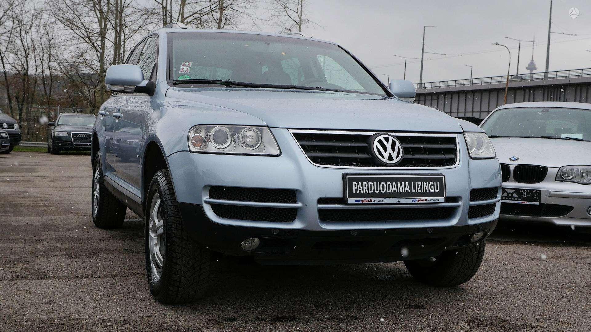 Volkswagen Touareg išsimokėtinai nuo 97Eur/Mėn su 3 mėnesių garantija