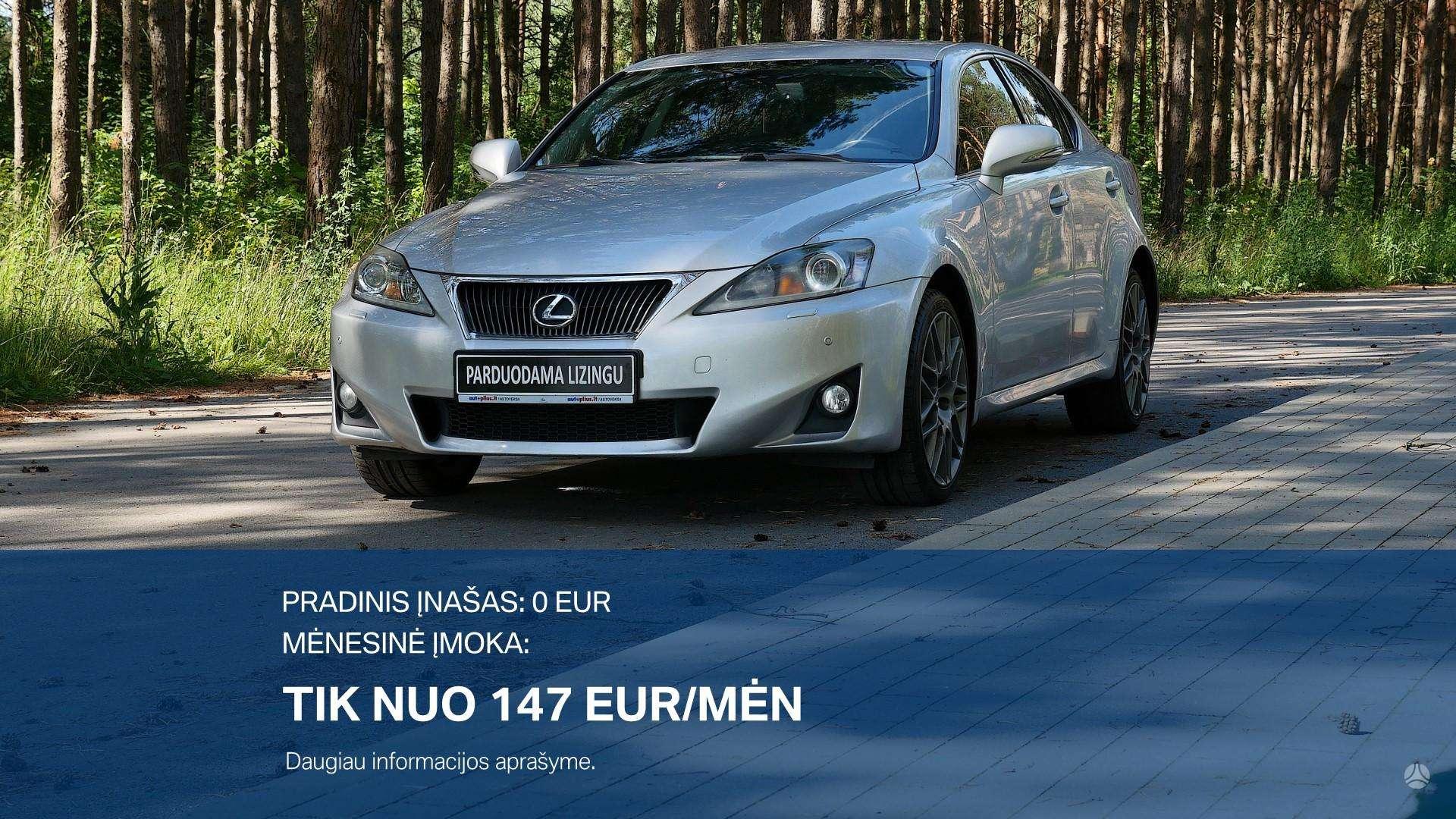 Lexus IS išsimokėtinai nuo 147Eur/Mėn su 3 mėnesių garantija