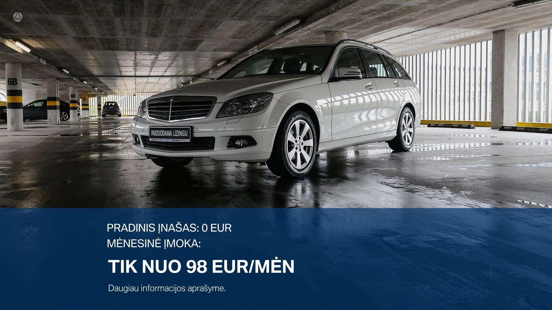 Mercedes-Benz C200 Išsimokėtinai nuo 99Eur/Mėn su 3 mėnesių garantija