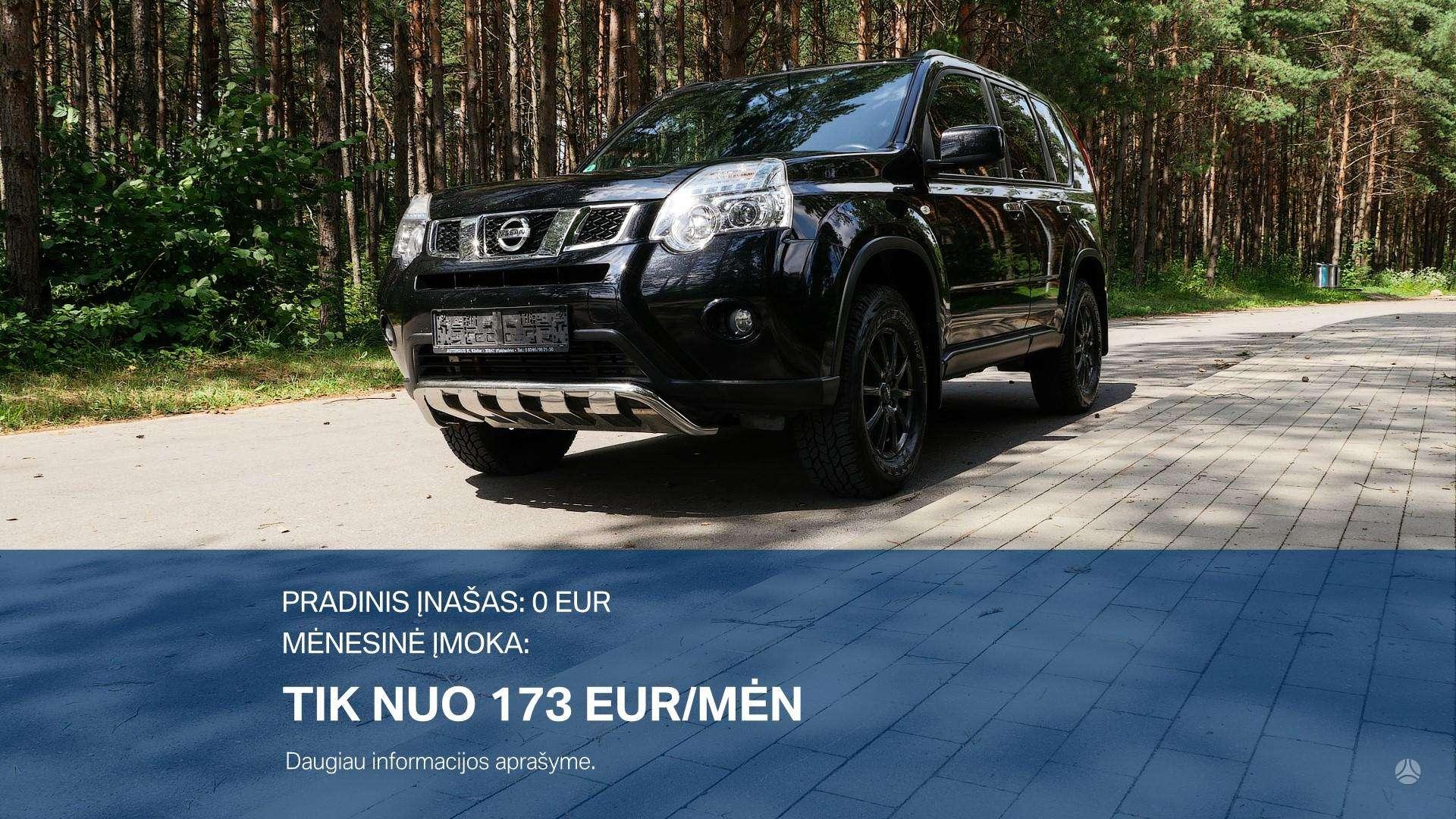 Nissan X-Trail išsimokėtinai nuo 173Eur/Mėn su 3 mėnesių garantija