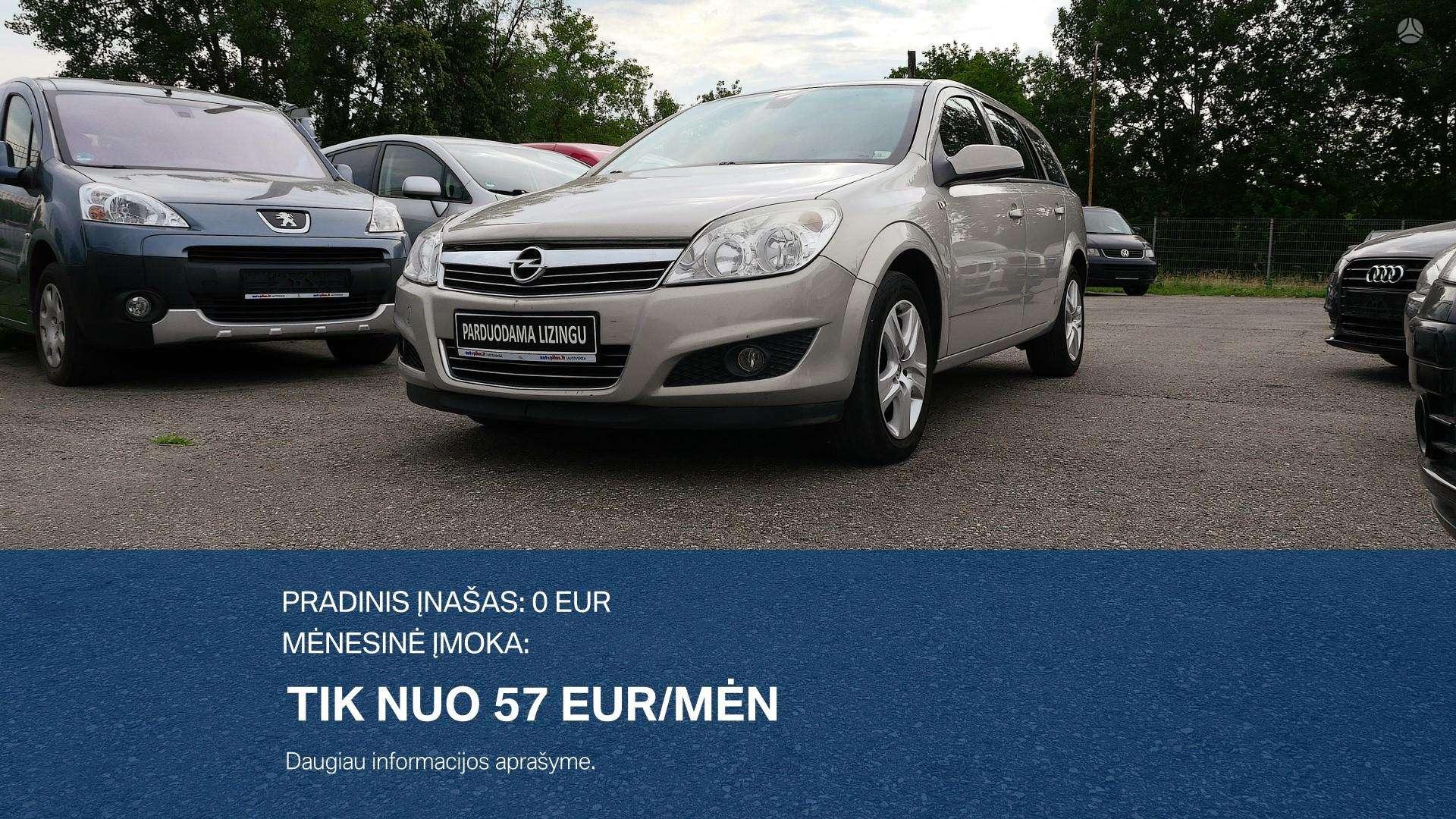 Opel Astra išsimokėtinai nuo 57Eur/Mėn su 3 mėnesių garantija