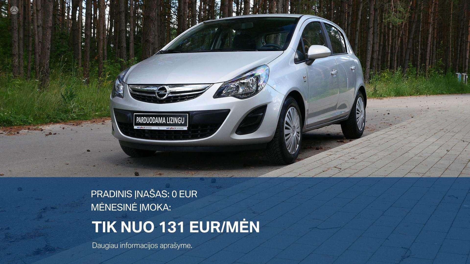 Opel Corsa išsimokėtinai nuo 131Eur/Mėn su 3 mėnesių garantija